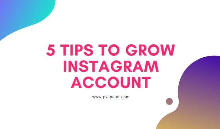 Grow Instagram Account